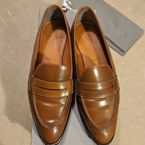 Everlane modern penny loafer in 7.5 cognac/brown